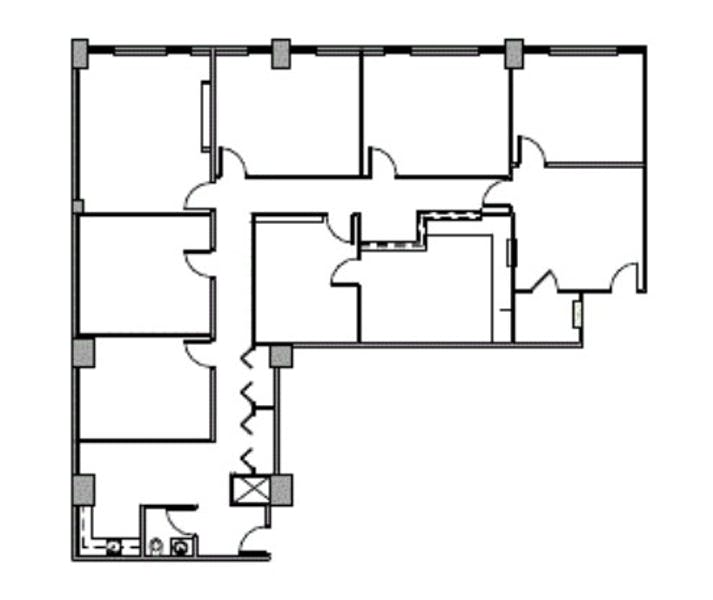 Suite 1500 / 3,037 SF/ $5,315