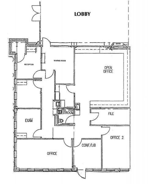 Suite 800 / 2,782 SF/ $4,173 + Expenses