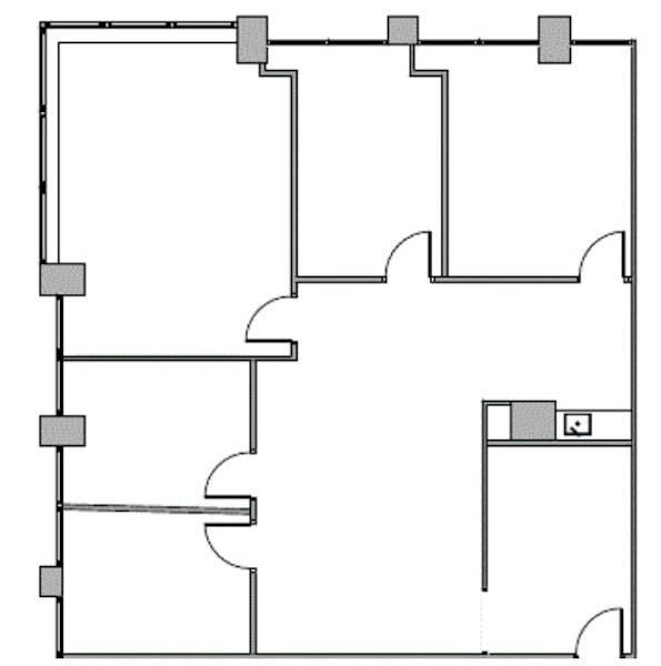 Suite 690 / 2,019 SF/ $3,166 + Expenses