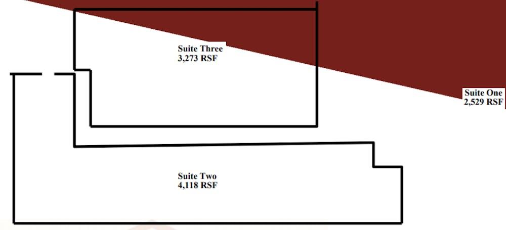 Suite 2 / 4,118 SF/ $8,579