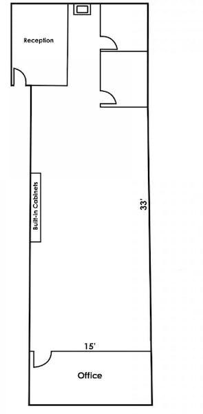 Suite 230 / 1,330 SF/ $2,993