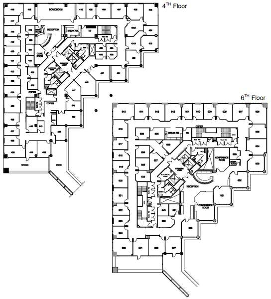 Suite Interior Office / 90 SF/ $720