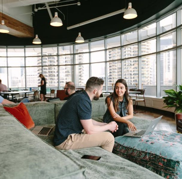 CoWorking at 20 W Kinzie
