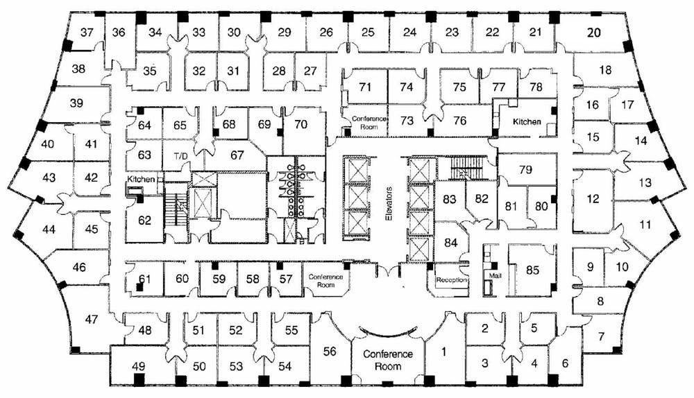 Suite Window Office / 155 SF/ $1,550