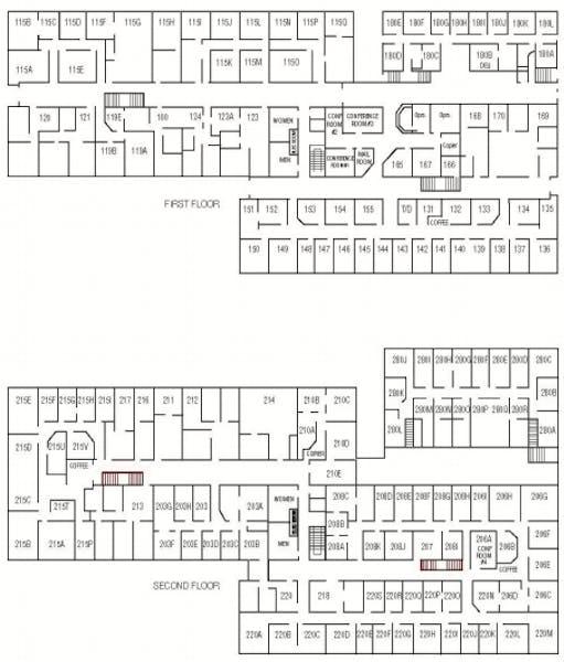 Suite Interior Office / 260 SF/ $1,235