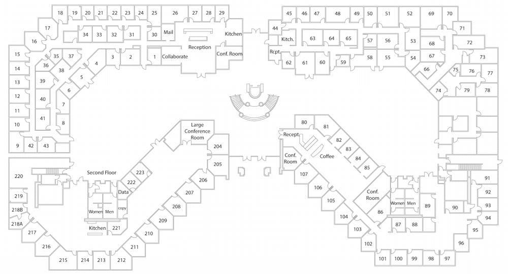 Suite Interior Office / 160 SF/ $1,440