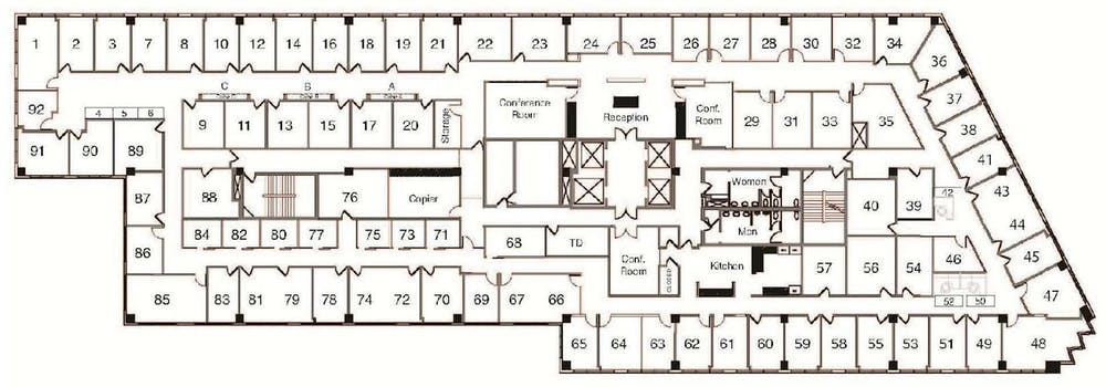 Suite Cubicle / 50 SF/ $600