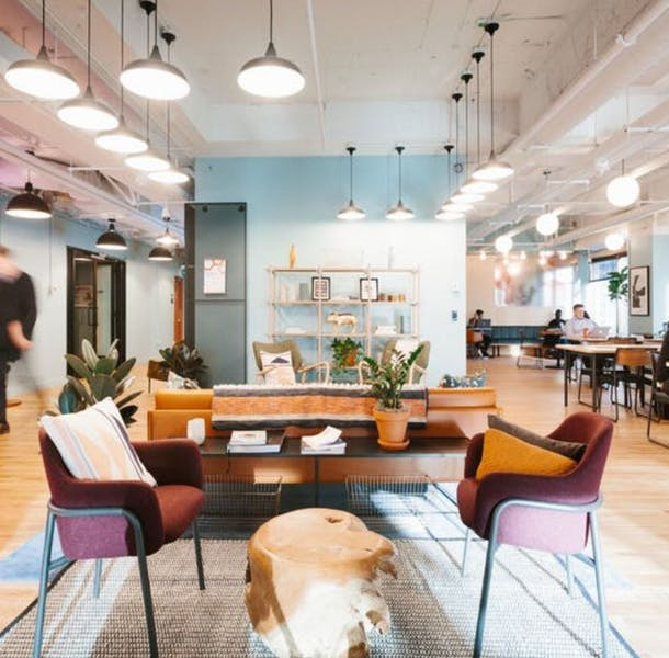 CoWorking at 515 N State St