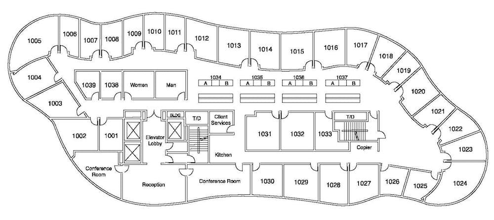 Suite Window Office / 135 SF/ $2,025
