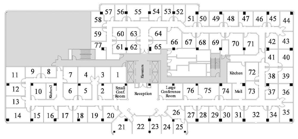 Suite Window Office / 250 SF/ $2,337