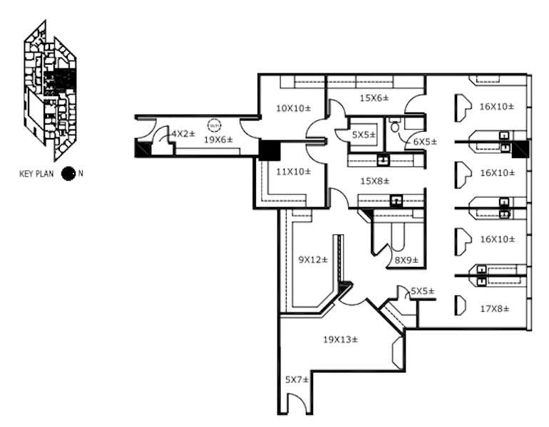 Suite 207 / 2,174 SF/ $3,805 + Electricity