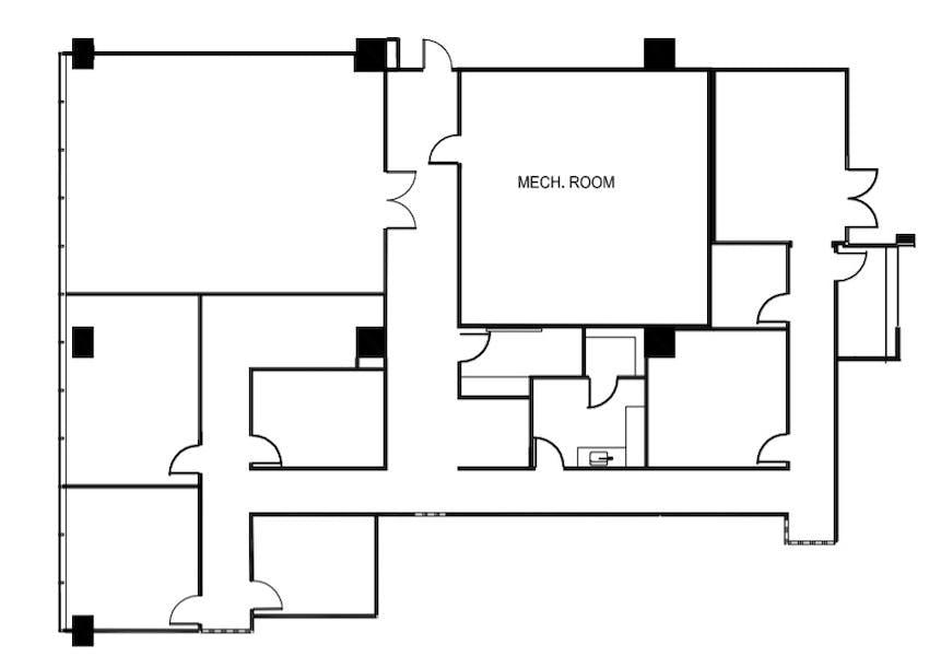 Suite N1600 / 4,131 SF/ $8,951 + Electricity