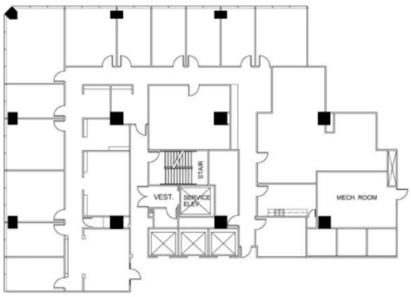 Suite N500 / 7,345 SF/ $12,242 + Electricity