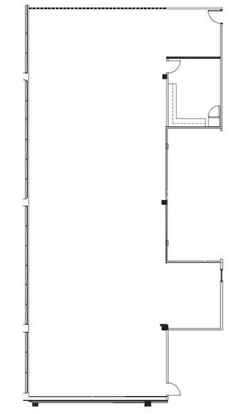 Suite 150 / 4,469 SF/ $5,586 + Electricity
