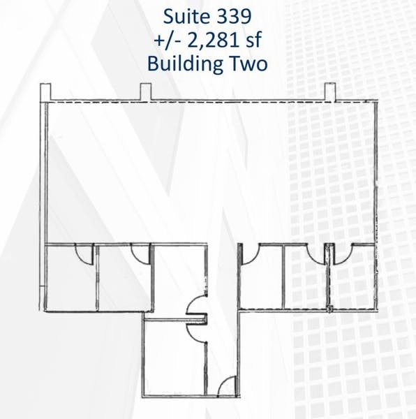 Suite 339 / 2,281 SF/ $2,851 + Electricity