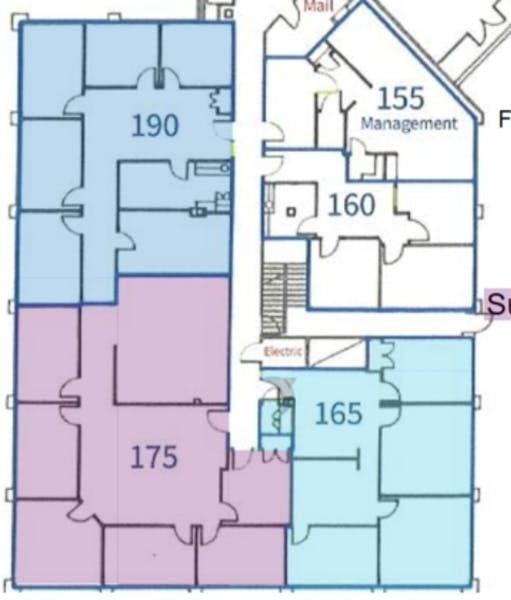 Suite 165 / 1,523 SF/ Negotiable