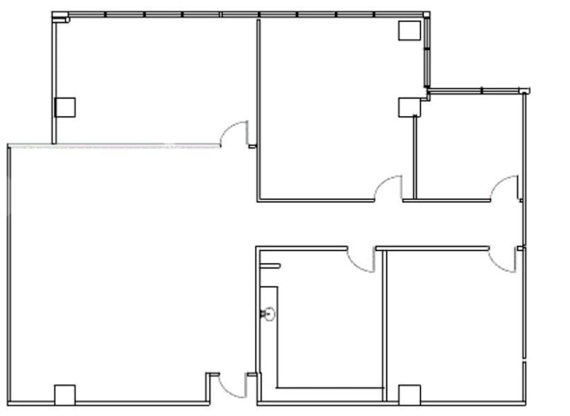 Suite 100 / 2,504 SF/ $5,321
