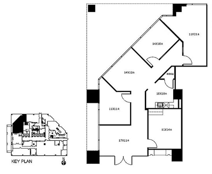 Suite 150 / 1,568 SF/ $3,528 + Electricity