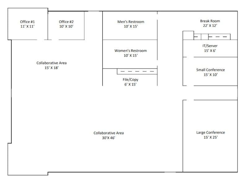 Suite Bldg / 3,727 SF/ $8,917