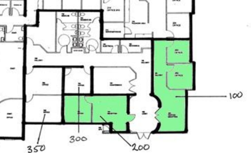 Suite 100 / 637 SF/ $1,380