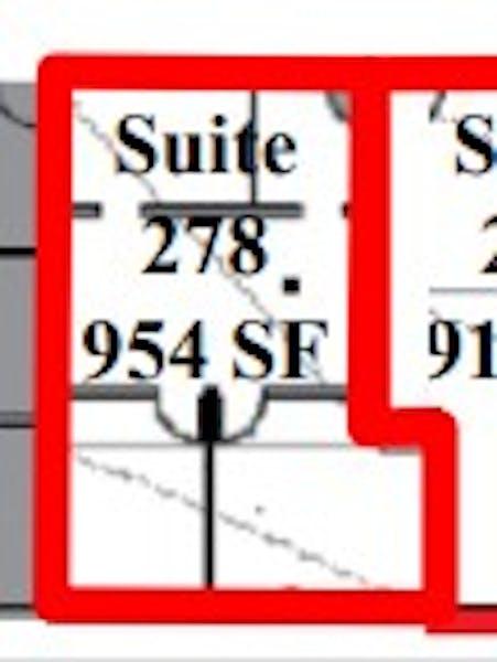 Suite 278 / 954 SF/ $1,590 + Expenses