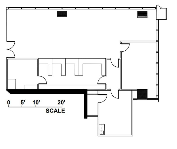 Suite S204 / 2,392 SF/ $6,379 + Expenses