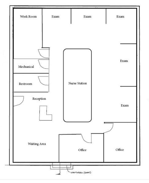 Suite 202 / 2,050 SF/ $3,588