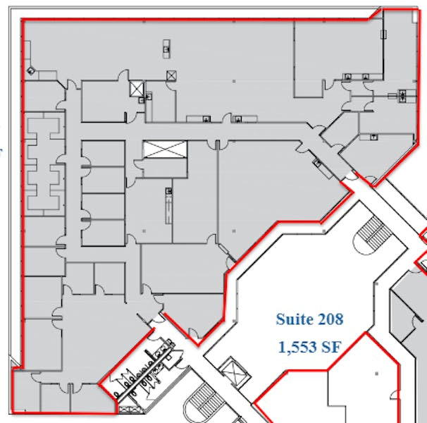 Suite 200 / 13,871 SF/ Negotiable