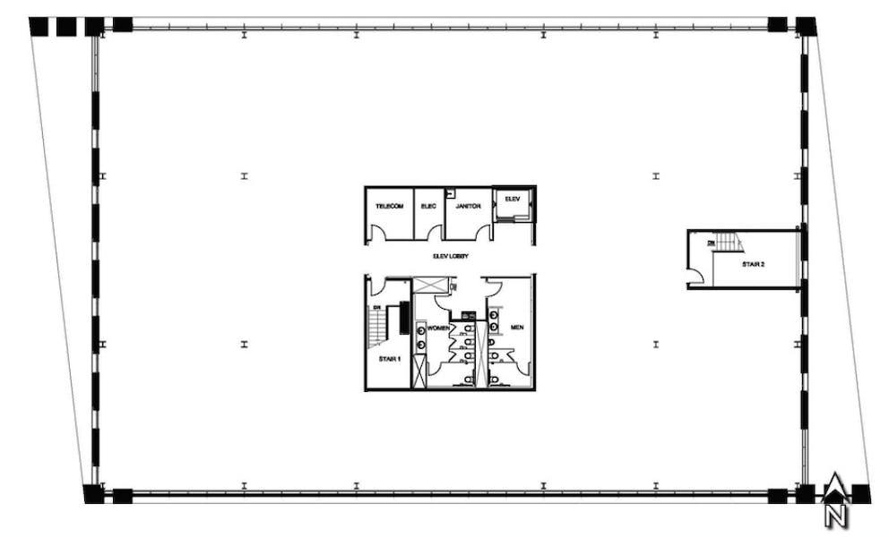 Suite 4th Floor / 5,902 SF/ $9,812 + Expenses