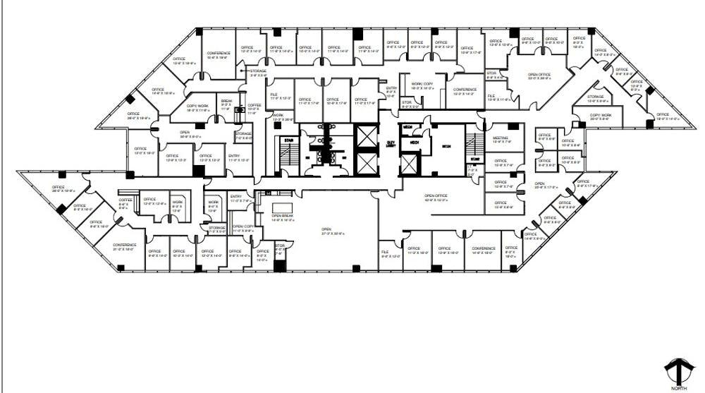 Suite 300 / 20,192 SF/ $35,336 + Electricity