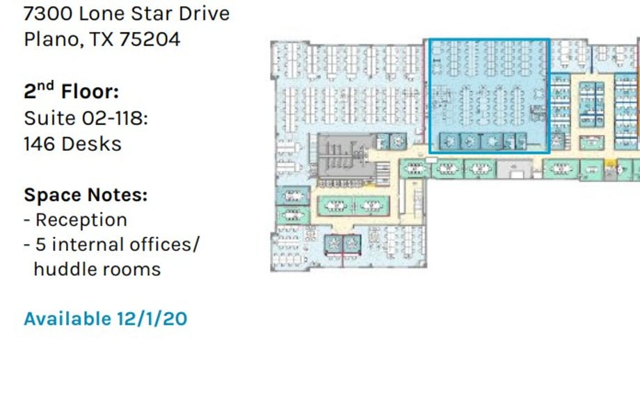 Suite Private Office 2-118 - AVAILABLE 12/2020 / 800 SF/ Negotiable