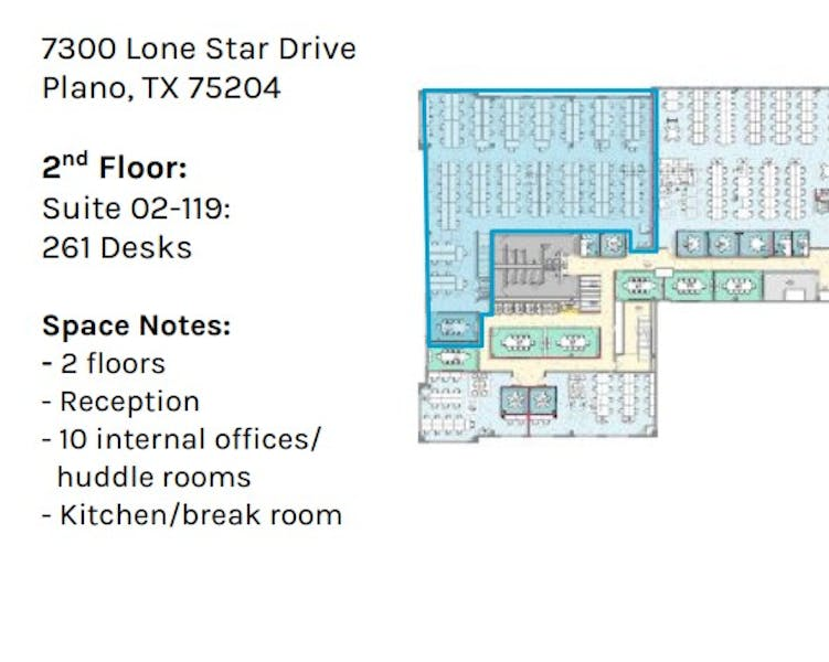 Suite Private Office 2-119 / 1,000 SF/ Negotiable