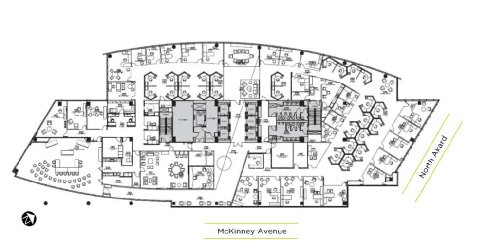 Suite Sublease 1800 / 25,343 SF/ Negotiable