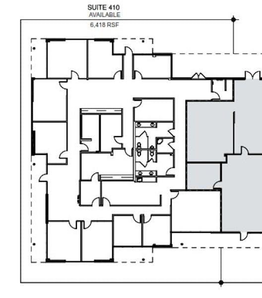 Suite 410 / 6,418 SF/ $7,589