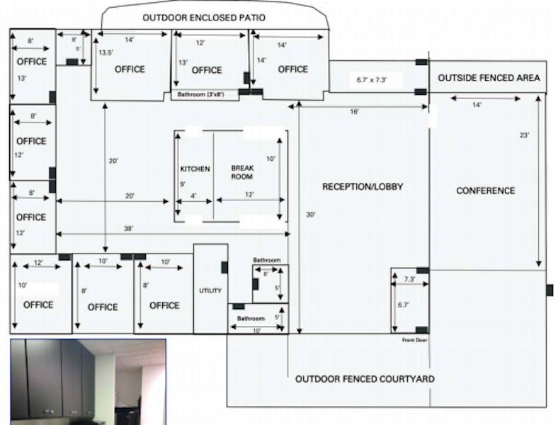 Suite sublease thru 4/30/25 / 3,481 SF/ $7,977