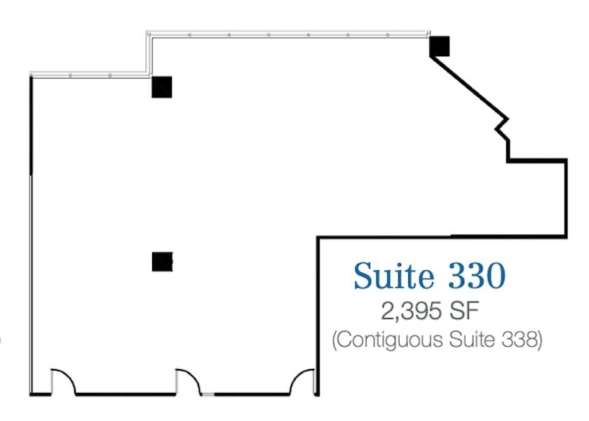 Suite 330 / 2,395 SF/ $4,690 + Electricity