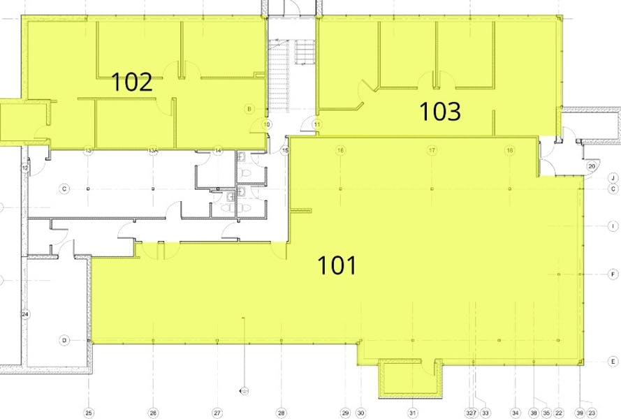 Suite 101 / 3,188 SF/ $5,048