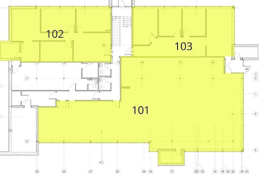 Suite 102 / 1,232 SF/ $1,951
