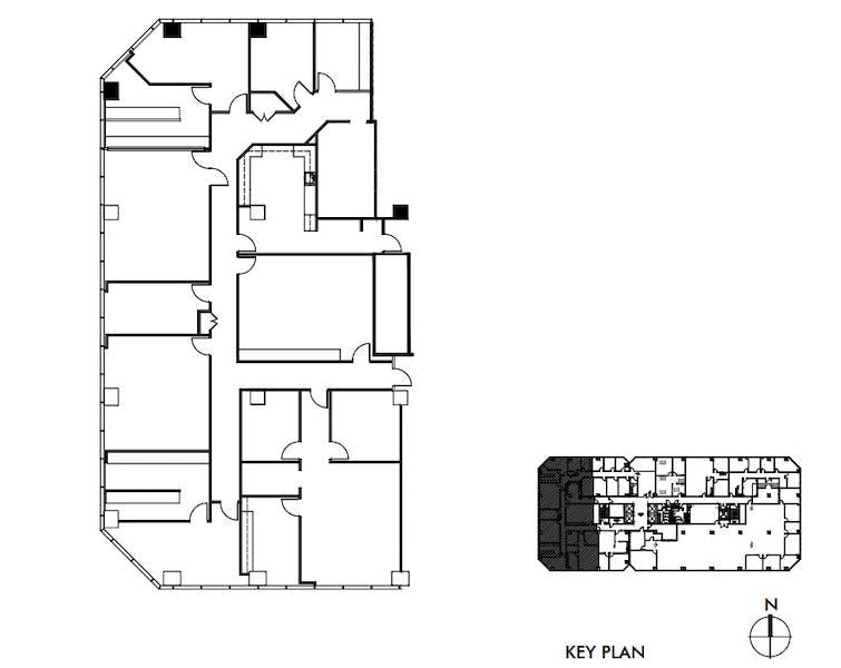 Suite 370 / 5,899 SF/ $8,111 + Electricity