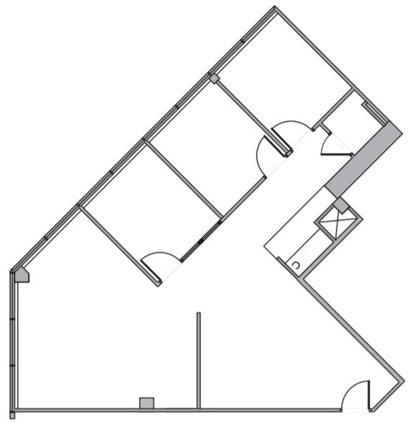 Suite 130 / 1,242 SF/ $2,795