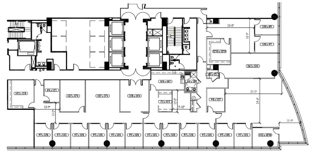 Suite 1425 / 8,570 SF/ $29,638