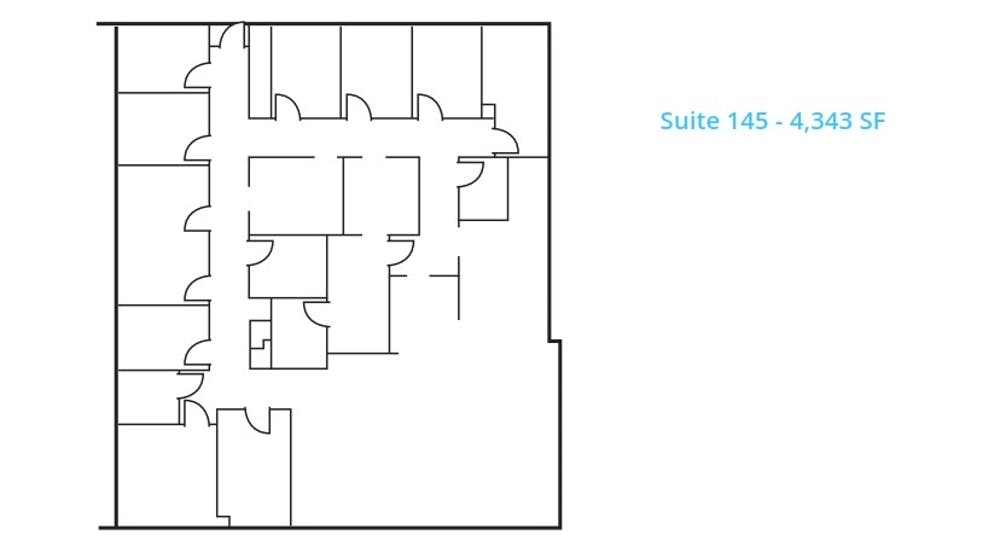 Suite 145 / 4,343 SF/ Negotiable