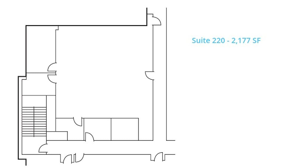 Suite 220 / 2,177 SF/ Negotiable