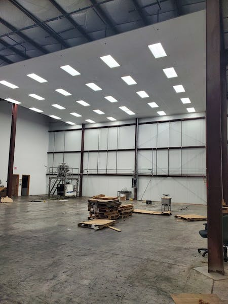 New Build 30 ft ceiling.