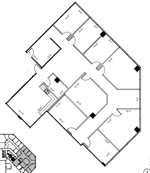 Suite 300 / 3,344 SF/ $6,688