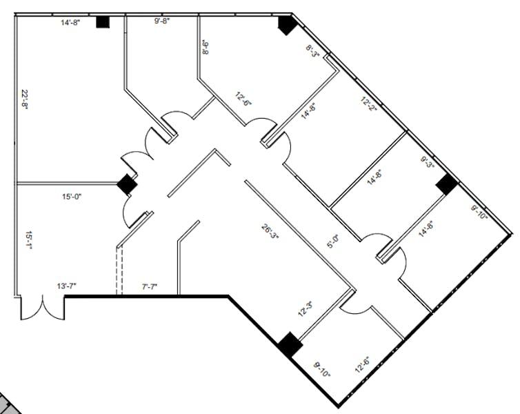 Suite 310 / 2,775 SF/ $4,856
