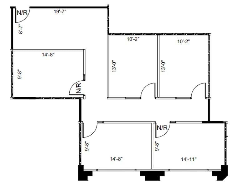 Suite 590 / 1,310 SF/ $2,293