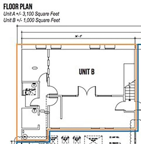 Suite SUBLEASE - B - thru 01/2023 / 1,000 SF/ Negotiable