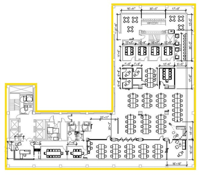 Suite Sublease thru 10/30/25 / 11,594 SF/ $63,168