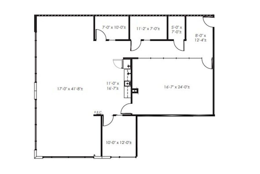 Suite 250 / 2,681 SF/ $6,575